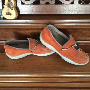 Prada Suede Loafers
